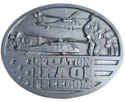 Operation Iraqi Freedom buckle